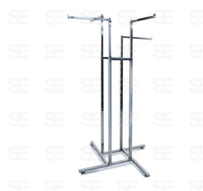 RACK-4 WAY FOUR STRAIGHT BAR
