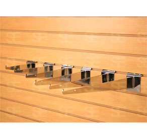 SLAT WALL 12 INCH SHELF BRACKET