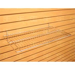 SLAT WALL 24 INCH WIRE SHELF