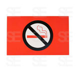 7 X 11 SIGN / NO SMOKING SYMBOL