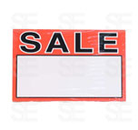 7 X 11 SIGN / 1 PACK- SALE WITH BLANK SPACE