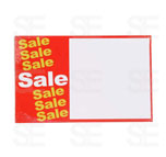 7 X 11 SIGN / 1-PACK: SALE SALE WITH BLANK