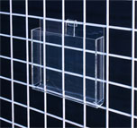 GRID WALL ACRYLIC BROCHURE HOLDER