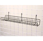 GRID PANEL 24 CD/DVD WIRE SHELF
