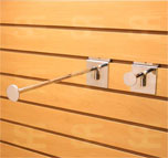 SLAT WALL 12 INCH ROUND FACE OUT BRACKET