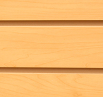 SLAT WALL BOARD MAPLE